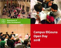 Open Day El Gouna Campus Urban Development Department Stadtentwicklung Egypt Ägypten