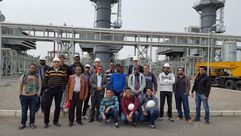 Energy Engineering Students, intake 2015, at Hurghada Power station