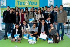 Energy Engineering students at Hannover Messe